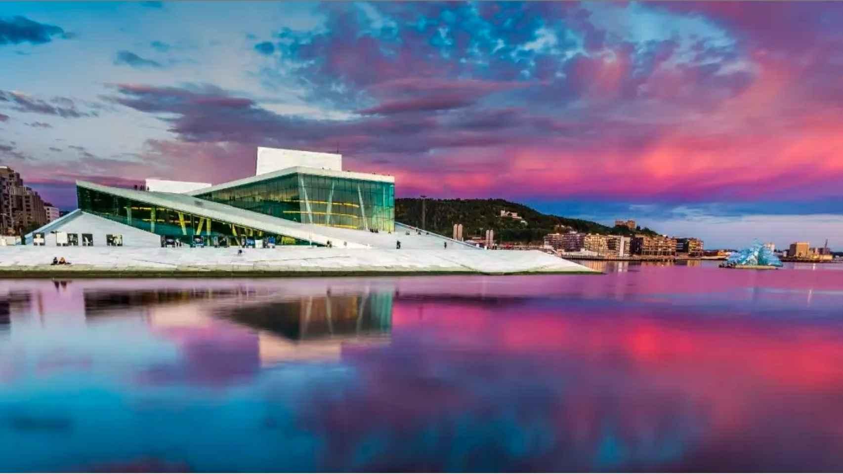 Oslo, donde el modernismo se funde entre la naturaleza