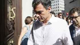 Pedro Sánchez vuelve al Congreso de los Diputados.