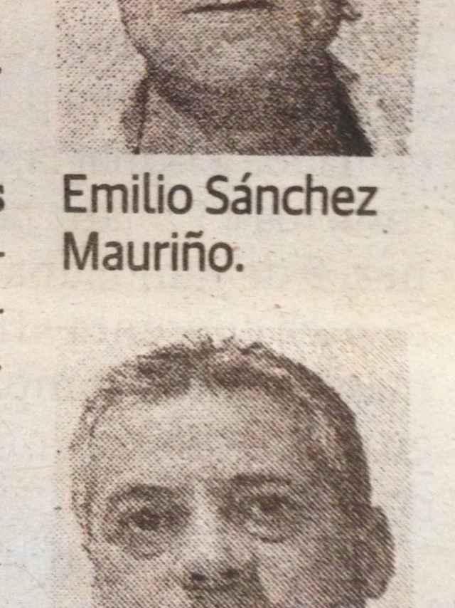 Emilio Sánchez Mauriño, el presunto autor del disparo que acabó con Ángel Luis Musquiz.