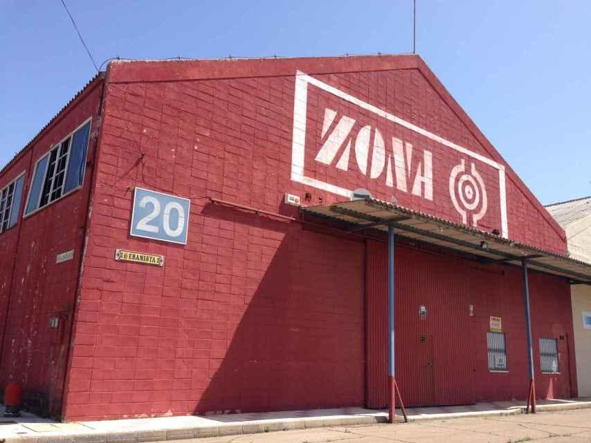 Fachada del burdel Zona Cero. Su último propietario fue el asesinado a tiros este pasado martes.