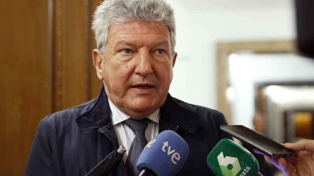 El diputado de Nueva Canarias Pedro Quevedo, en una imagen de archivo.