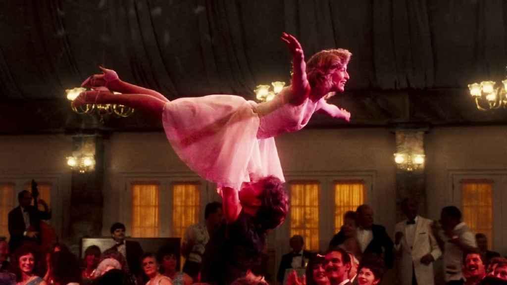 Una de las escenas más míticas de Dirty Dancing.
