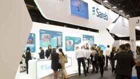 Stand de la Sareb en la última edición del Salón Inmobiliario de Madrid.