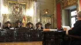 La Sala Penal del Supremo, durante un juicio
