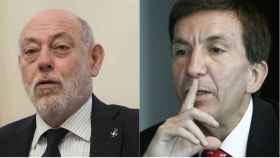 José Manuel Maza, fiscal general del Estado, y Manuel Moix, fiscal Anticorrupción