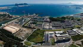Factoría de Acerinox en el Campo de Gibraltar