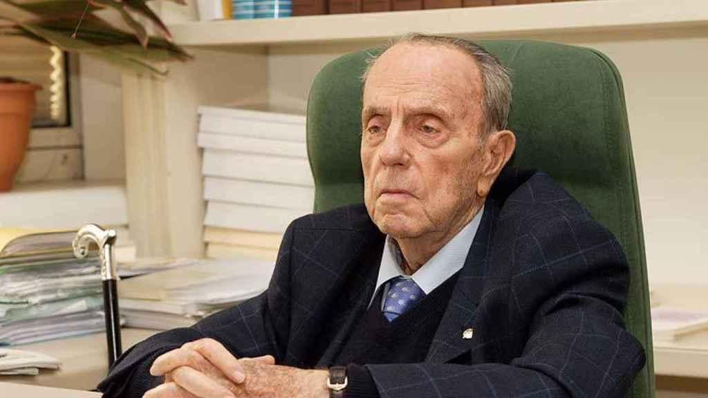 Manuel Fraga, un año antes de su muerte.