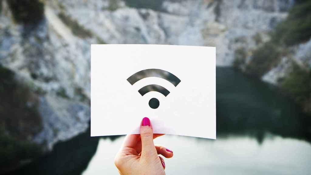 Símbolo WiFi.