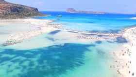 Una playa del norte de Creta
