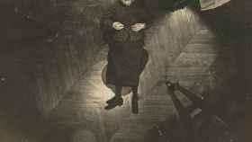 El cuerpo de Madame Veuve Bol tendido sobre el suelo en París en 1904.