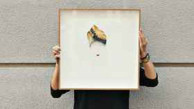 Uno de los cuadros que Mari Quiñonero  ha creado para Zubi. | Foto: Zubi.