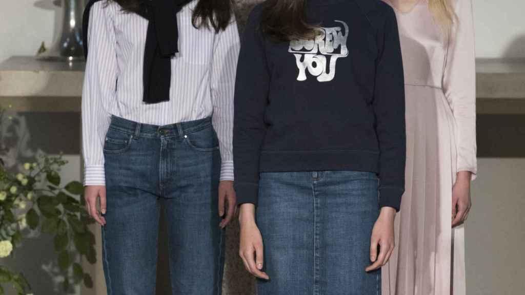 Algunos de los modelos presentados en el desfile. | Foto: GTRES.