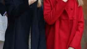 La princesa Leonor y la infanta Sofía, en una imagen de archivo.