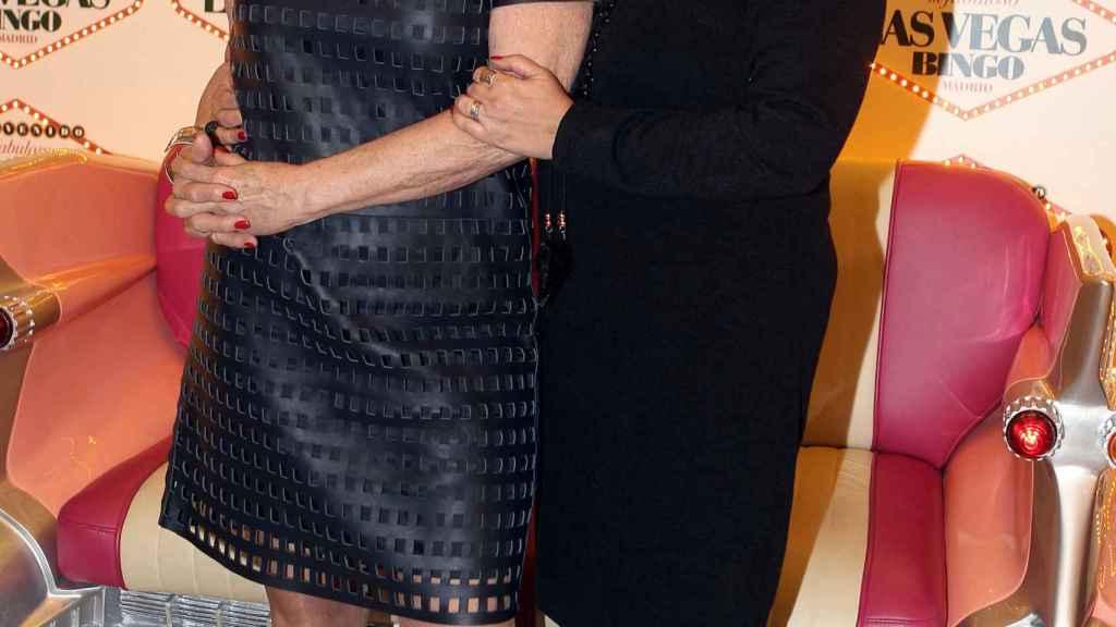 Mila Ximénez y Terelu Campos.