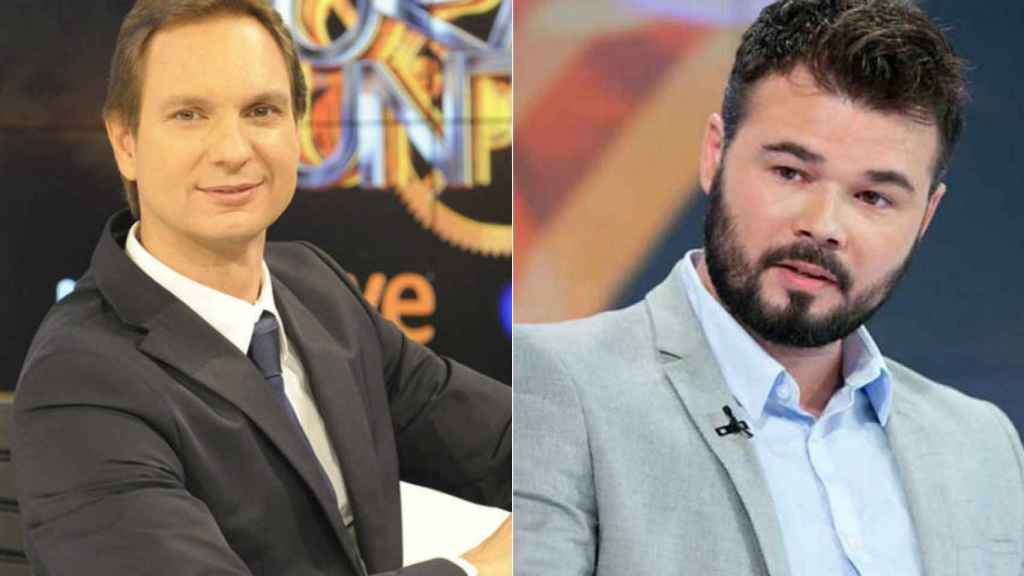 Gabriel Rufián y Javier Cárdenas se enzarzan en Twitter