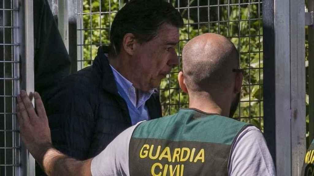 Ignacio González el día de su detención.