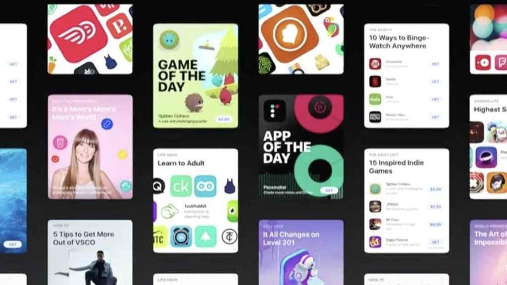 Presentación de la App Store