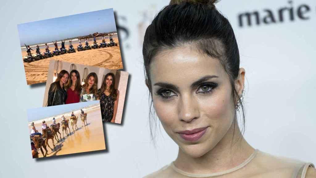 Melissa Jiménez disfrutó de su despedida de soltera en Marrakech.