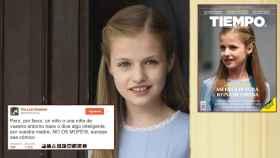 Adriana reaccionó desde su cuenta de Twitter a las burlas por la portada de la revista Época.