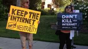 neutralidad de la red protesta