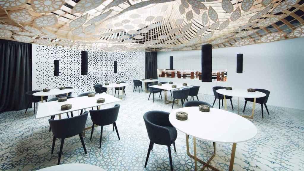 El espacio pequeño del restaurante Noor en Córdoba.   Foto: Noor.