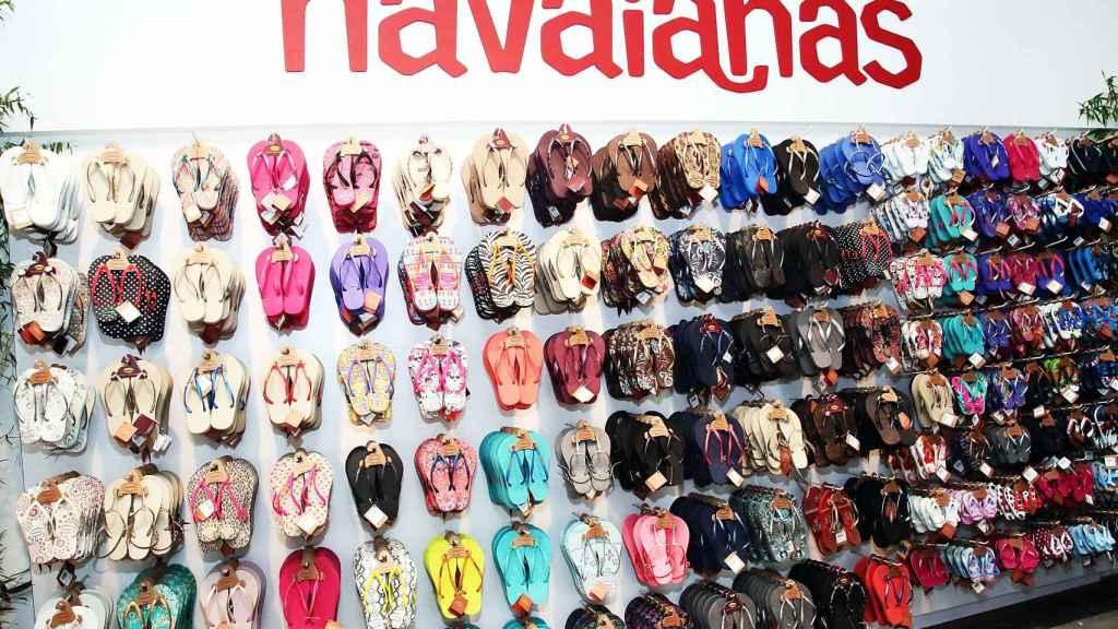 Así es el aspecto de las tiendas tradicionales de Havaianas.   Foto: Getty Images.