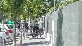 La Guardia Civil durante la opación del 'Caso Evasión'
