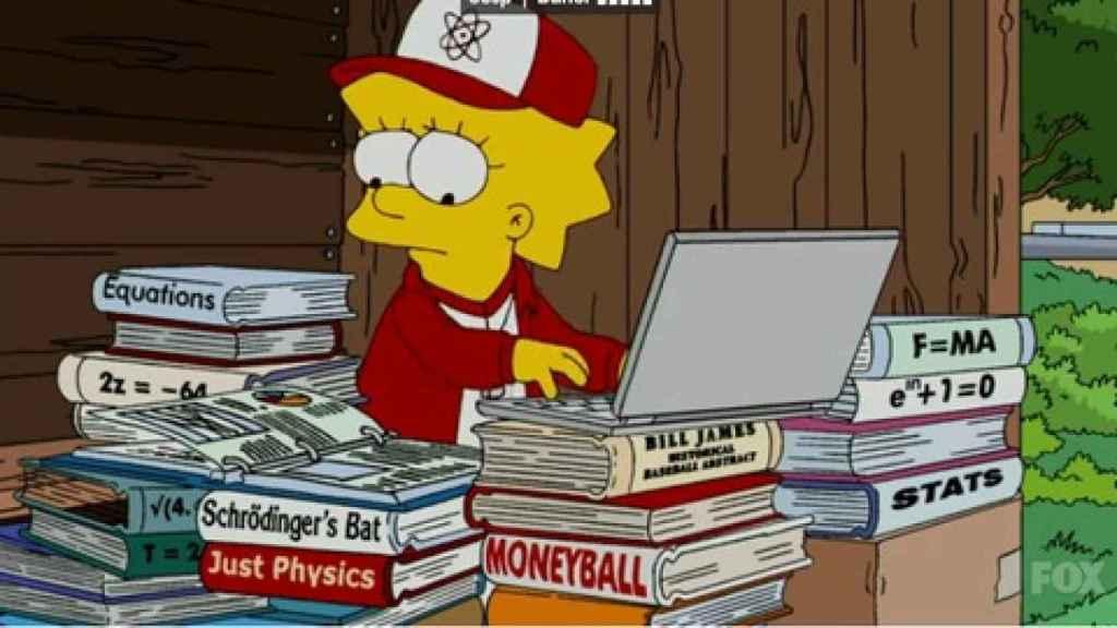 Lisa Simpson, perfecto ejemplo de una estudiante con muy buen futuro.