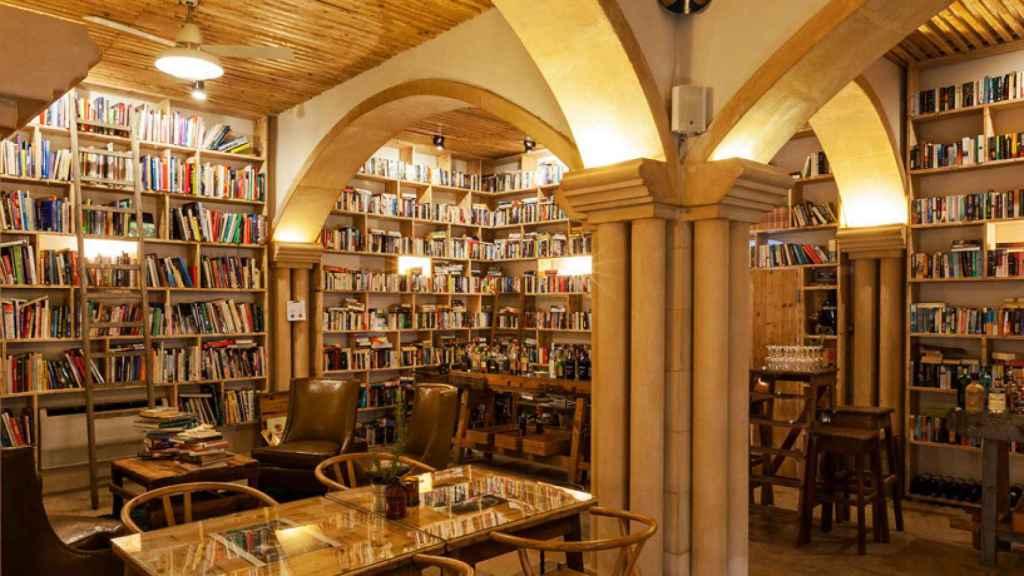 Restaurante y cóctel bar de The Literary Man.