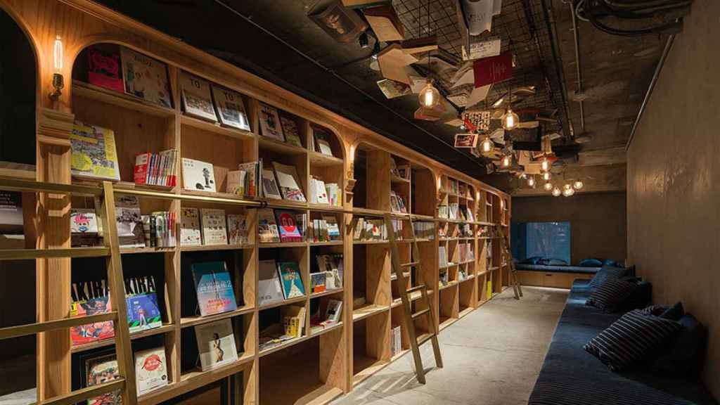 En el hostal-biblioteca Book and Bed Tokyo hay 1.700 libros a disposición de los huéspedes.