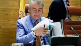 José Antonio Sánchez, durante una comparecencia parlamentaria, en una imagen de archivo.
