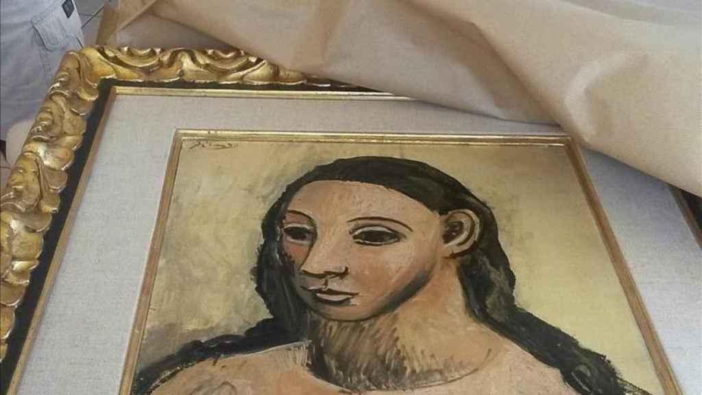 Cabeza de mujer joven, de Picasso