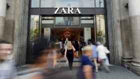 Una tienda de Zara en Barcelona, en una imagen de archivo.