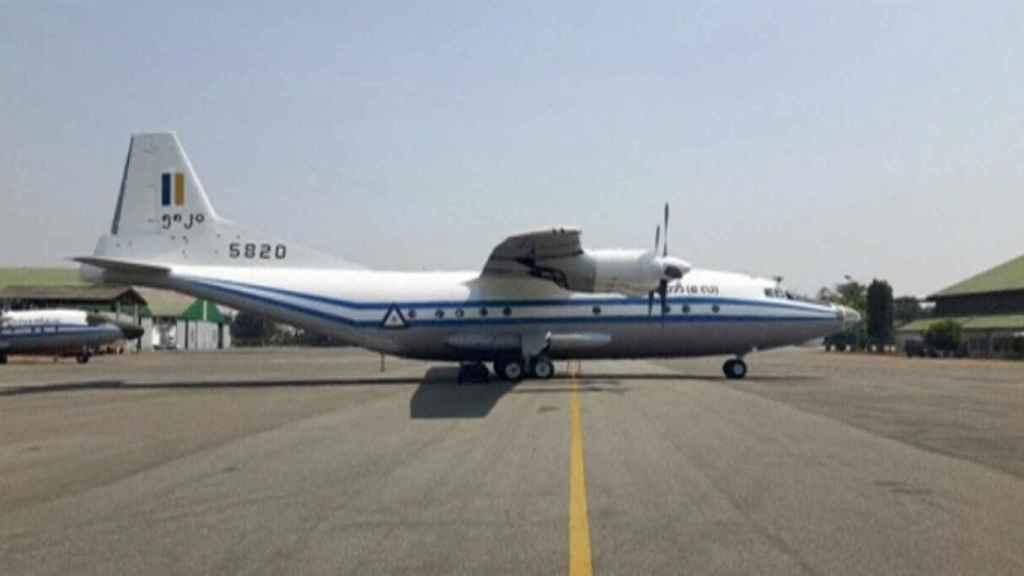 Modelo del avión siniestrado.