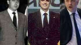 Pedro Ferrándiz, Lolo Sáinz y Pablo Laso.