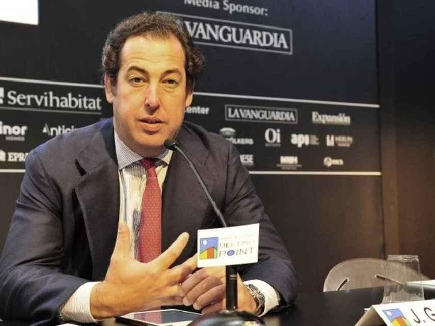 Javier García-Carranza, presidente de Merlin y director general adjunto del Banco Santander.