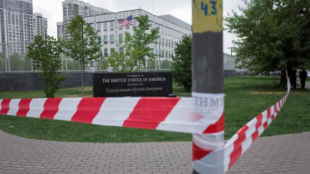 Embajada de EEUU en Kiev.