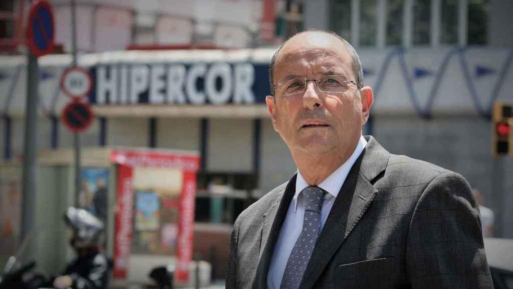 Pedro Ortega trabajaba en un laboratorio que se ubicaba encima de Hipercor.