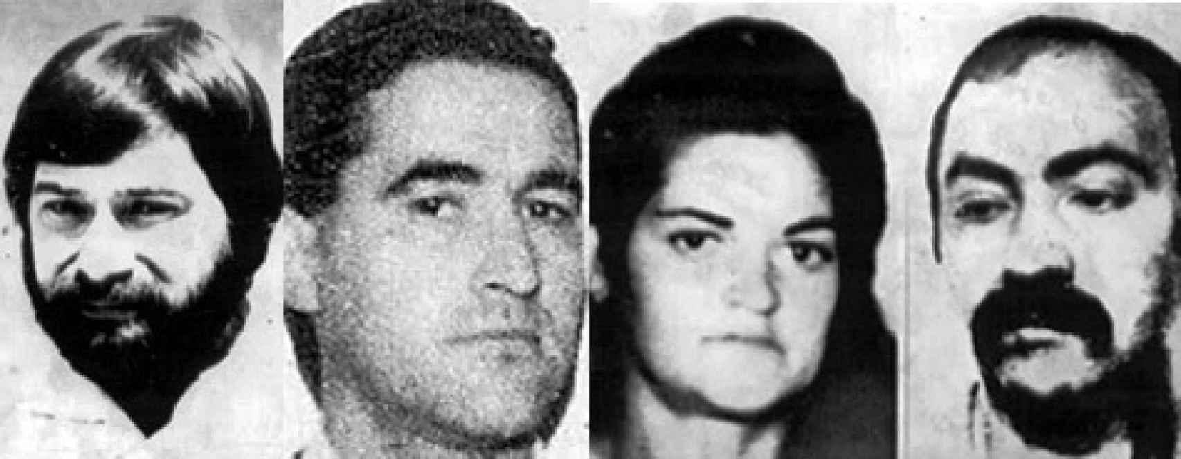 Santiago Arróspide, Domingo Troitiño, Mercedes Ernaga y Rafael Caride.