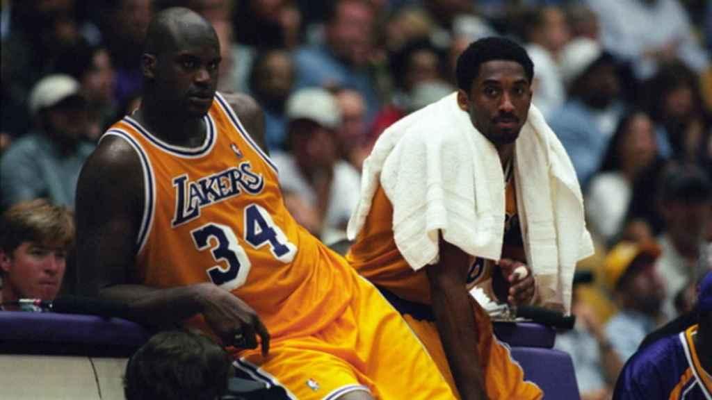 Shaq y Kobe Bryant.