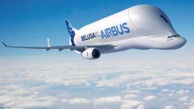 El Airbus Beluga XL, uno de los colosos