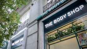 Una de las tiendas de The Body Shop en Madrid.