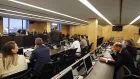 Reunión de la comisión sobre la financiación del PP en el Congreso.