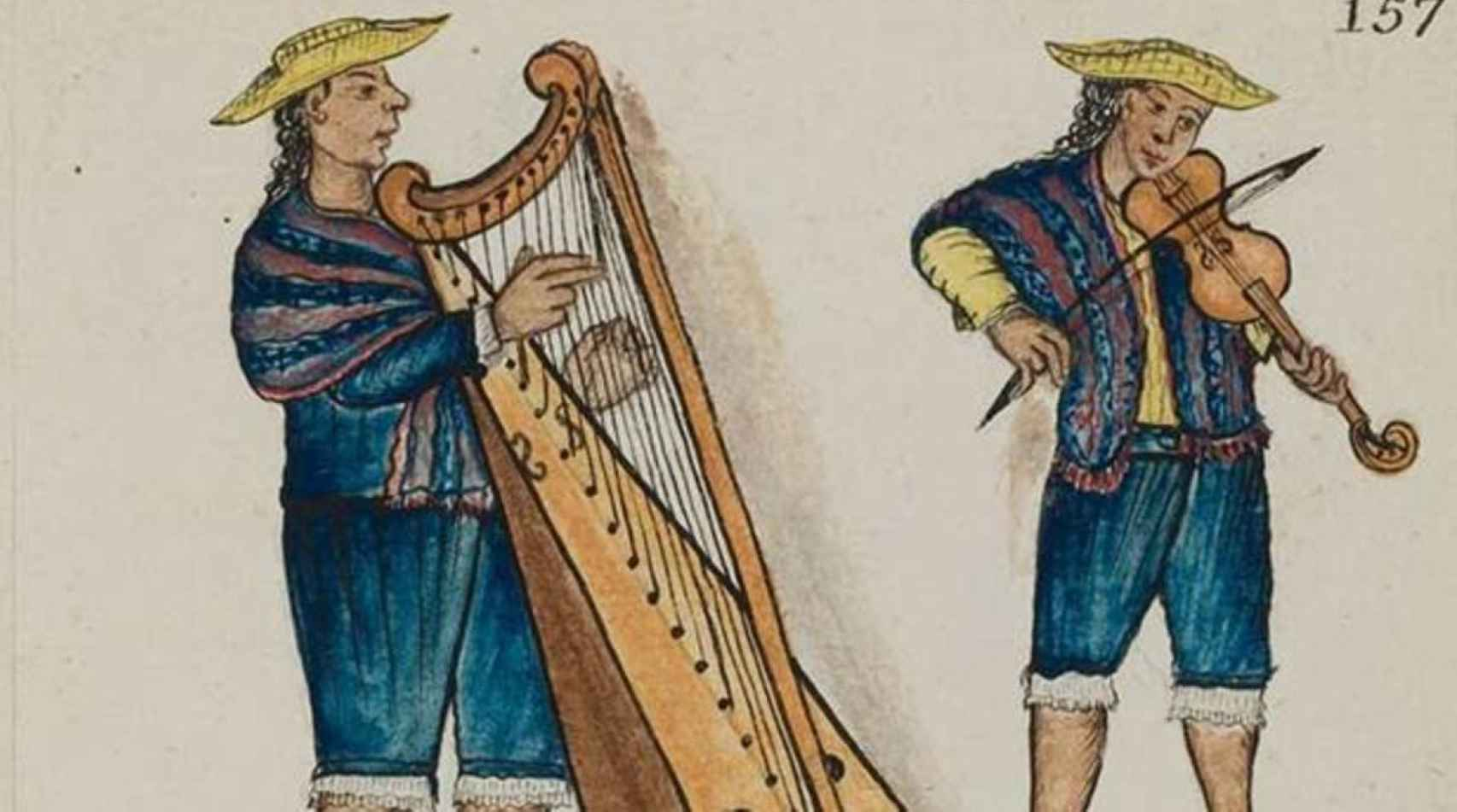 Otra de las páginas del códice destinado al Museo de América.