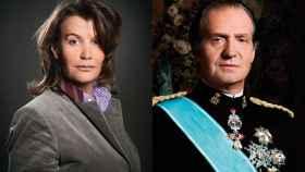 Ingrid Sartiau y el rey Juan Carlos.