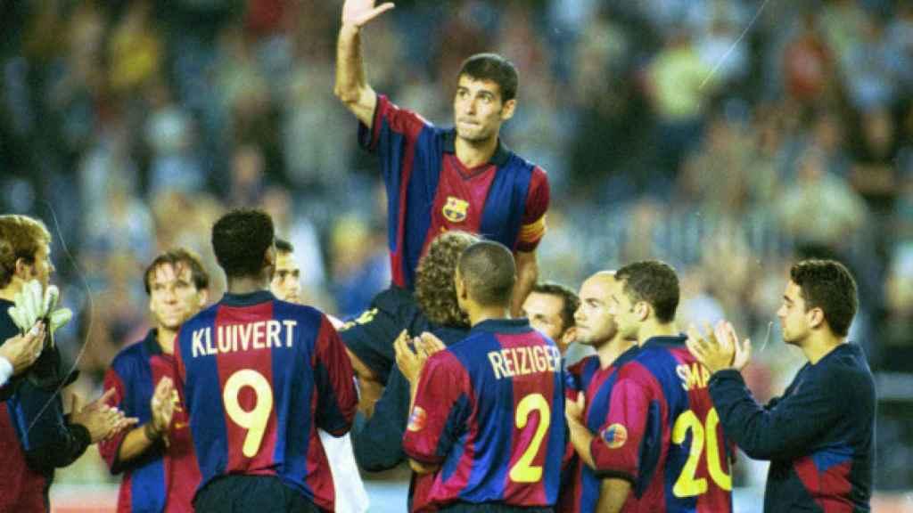 Una 'mancha' en los 'valors' de Guardiola: sigue siendo el más expulsado de  la historia del Barça