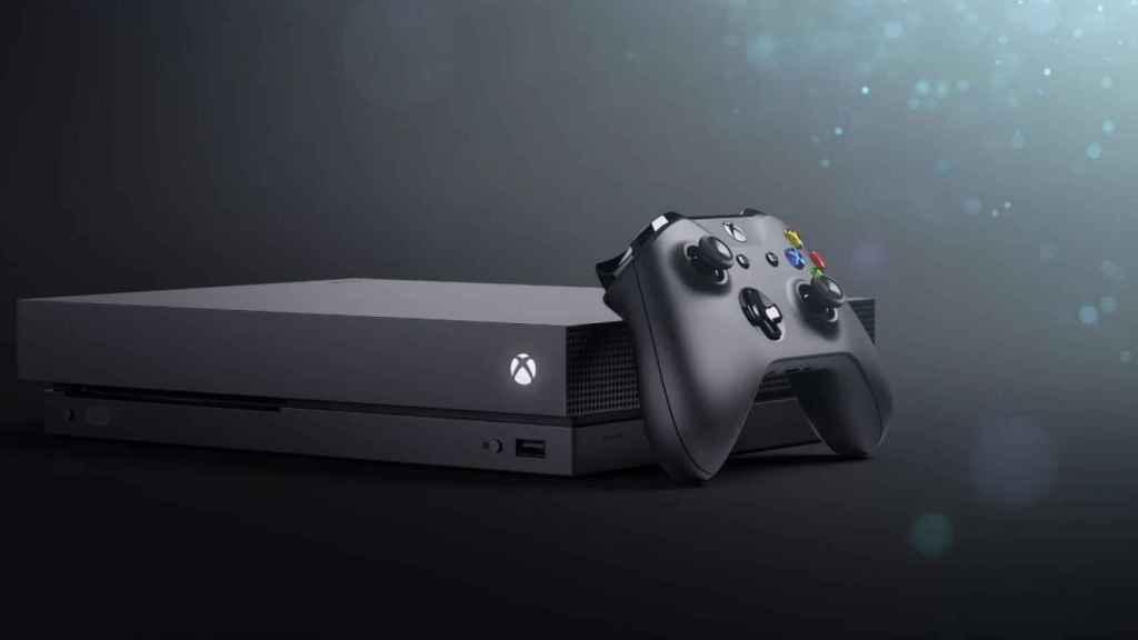 Así es la Xbox One X