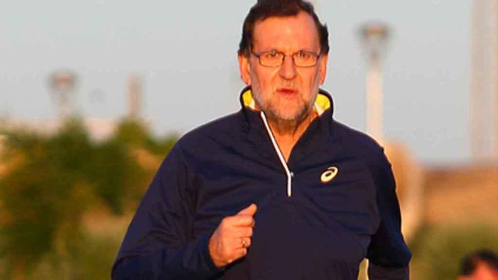 Rajoy es aficionado al atletismo