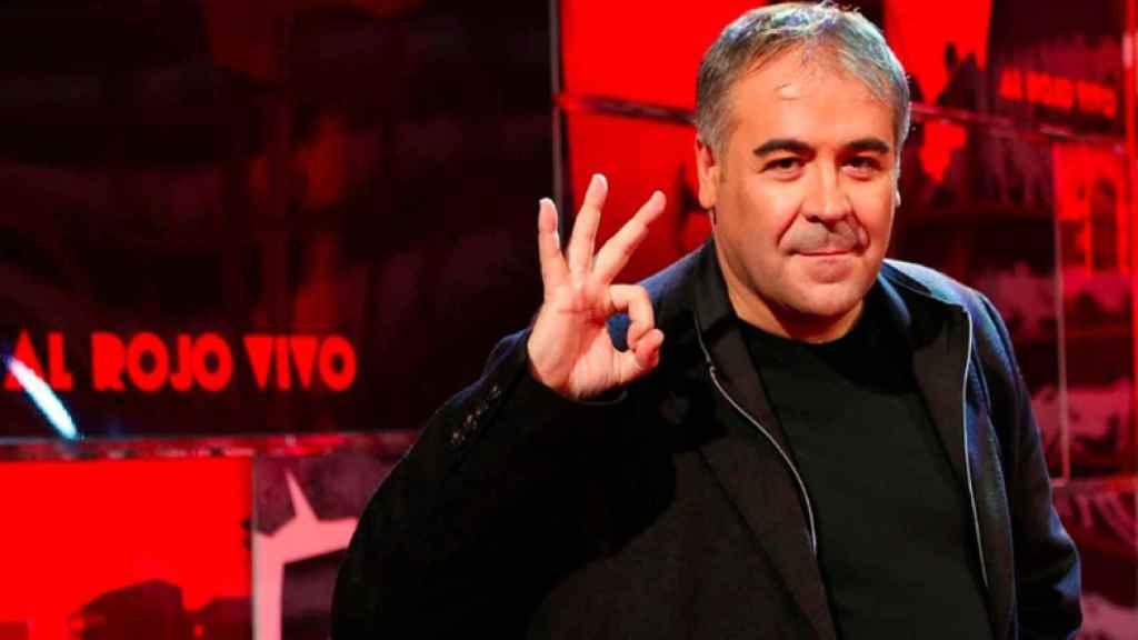 El presentador de Al rojo vivo, Antonio García Ferreras.