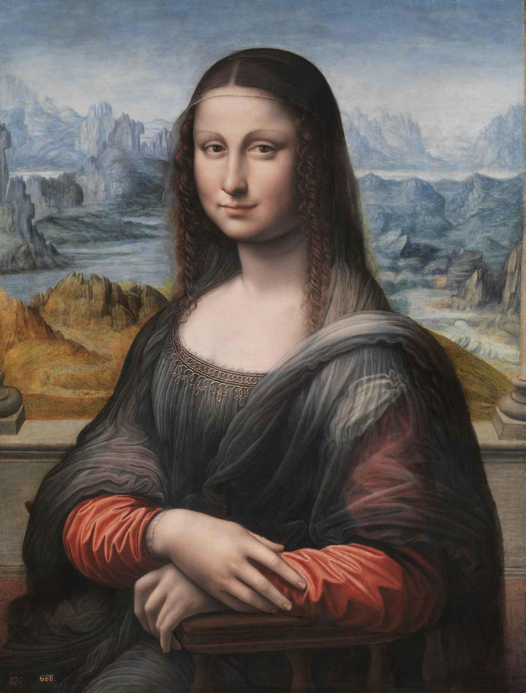 La Gioconda, anónimo (Taller de Leonardo da Vinci).